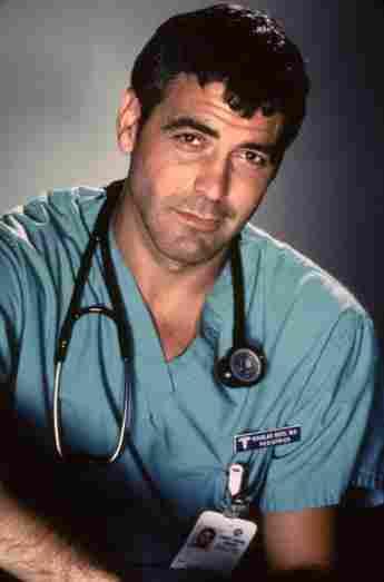 George Clooney en 'Sala de emergencias'