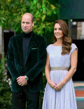 Prince William and Duchess Kate new photos pictures black and white Earthshot Prize awards show ceremony 2021 royal family news