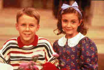 Benjamin Salisbury and Madeline Zima in The Nanny