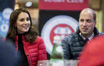 Prinz William Kate sportlich