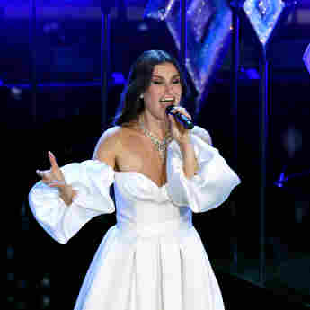 Idina Menzel during the 92nd Annual Academy Awards at Dolby Theatre on February 09, 2020