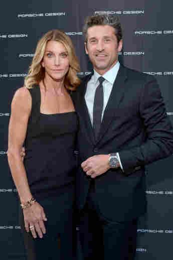 Grey's Anatomy star Patrick Dempsey and his wife Jillian Fink