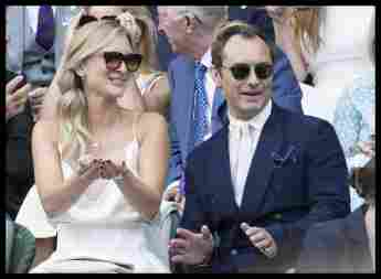 Jude Law y Phillipa Coan