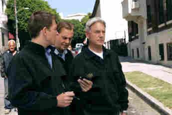 "Michael Weatherly, Sean Murray and Mark Harmon Season 18 ""NCIS"""