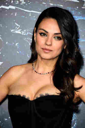 """Actress Mila Kunis arrives at the Premiere of Warner Bros. Pictures' """"Jupiter Ascending"""" at TCL Chinese Theatre on February 2, 2015"""