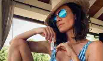 NCIS: LA Star Daniela Ruah Shows Off Another Toned Bikini Photos 2021 Instagram pictures