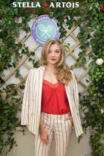 Stella Artois hosts Natalie Dormer at The Championships, Wimbledon as the Official Beer of the tournament.