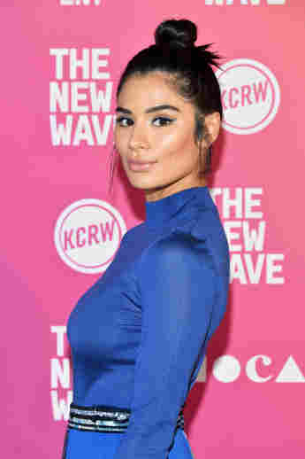 Diane Guerrero attends the Latinx Panel at Film Independent's The New Wave, October 19, 2019
