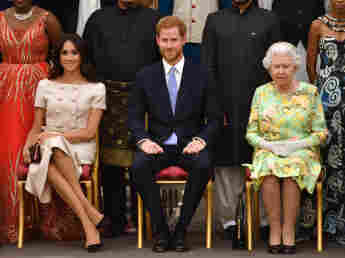 Prince Harry and Meghan Reportedly Planning UK Return For Baby Lili's Christening baptism royal ceremony Queen Elizabeth family news 2021