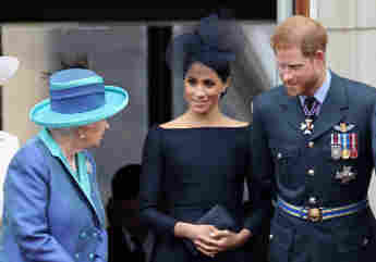 """Prince Harry And Meghan's Team Addresses Report Of New """"Rift"""" With The Queen Oprah interview statement Finding Freedom new excerpt 2021 People Daily Mail royal family news"""