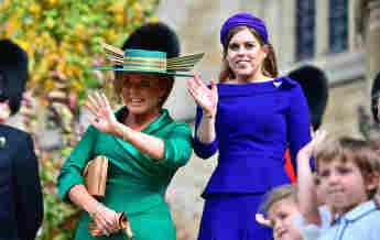 Princess Beatrice: Baby Name Sienna Honoured Sarah Ferguson grandmother daughter red hair royal family news 2021 husband Edoardo Mapelli Mozzi explained