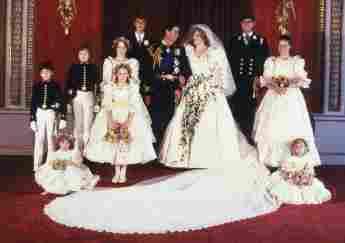 A Bridesmaid Of Princess Diana Just Got Married 40 Years Later India Hicks husband David Flint Wood royal wedding 2021 Prince Charles related