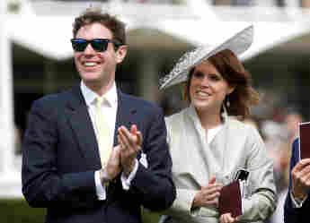 Princess Eugenie Husband Jack Brooksbank Criticized Over Boat Pictures yacht topless bikini women photos royal family news 2021 Casamigos Tequila George Clooney