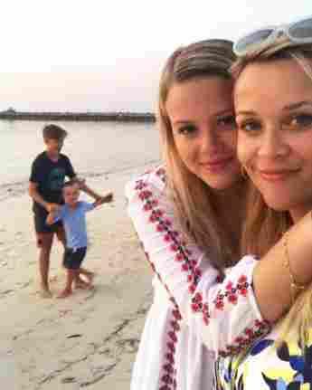 Reese Witherspoon con su hija Ava Phillippe
