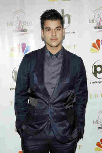 Rob Kardashian arrives at the 2012 Miss USA pageant the Planet Hollywood Resort & Casino
