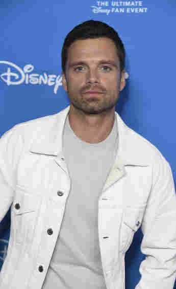 Sebastian Stan attends D23 Disney + event at Anaheim Convention Center on August 23, 2019 in Anaheim, California