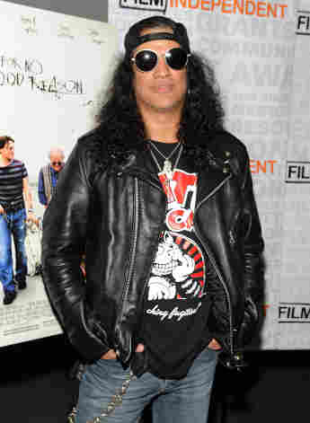 """Slash attends the Film Independent screening of Sony Pictures Classics' """"For No Good Reason"""" at the Landmark Theater on April 16, 2014 in Los Angeles, California"""