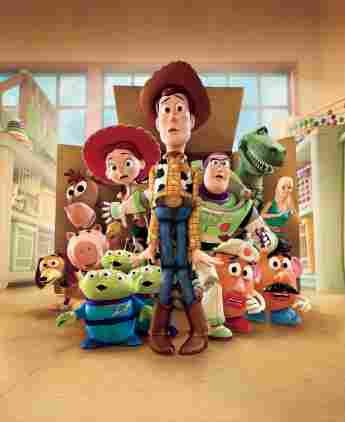 The Toy Story Characters
