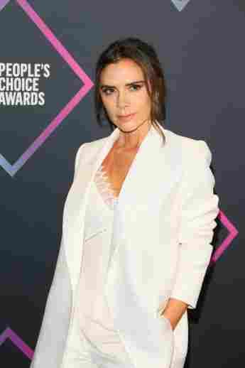 Victoria Beckham comparte su estilo pasado y la ropa ajustada era un signo de inseguridad