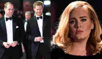 William Or Harry? Adele Reveals Which Prince She Prefers new interview Vogue 2021 new song Easy on Me album 30 royal family news