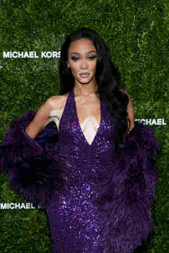 Winnie Harlow attends God's Love We Deliver, Golden Heart Awards on October 21, 2019 in New York City.