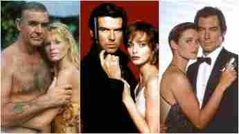 Connery Brosnan Dalton 007 James Bond