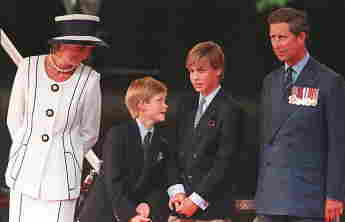 Best Pictures Of Prince Harry With His Mum Princess Diana