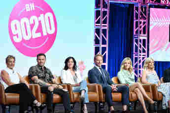 The cast of 'BH90210'