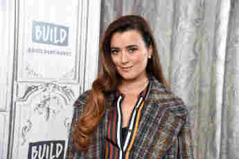 Cote de Pablo visited Build in September 2019 to discuss NCIS.