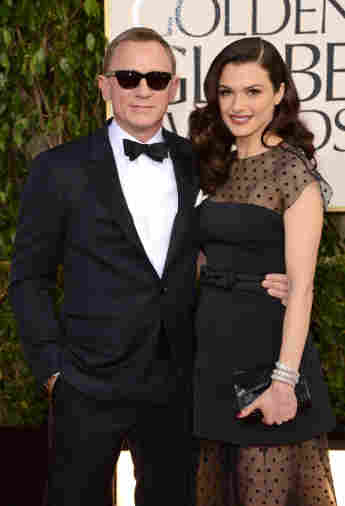 Daniel Craig and Rachel Weisz on the red carpet
