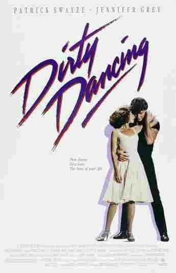 Dirty Dancing movie poster patrick swayze jennifer grey 1987