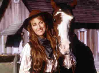 Jane Seymour en una imagen promocional de la serie 'Dr. Quinn'