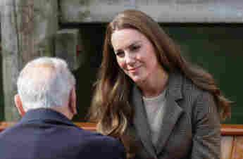 Duchess Kate Visits Holocaust Survivors During Lake District Trip