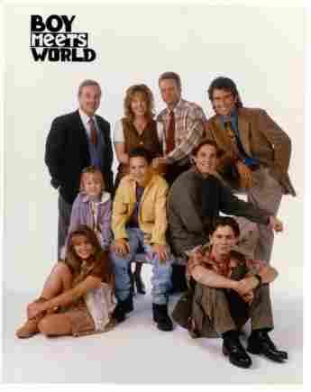 El elenco de 'Boy Meets World'