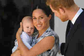 Meghan Markle, Archie y el príncipe Harry