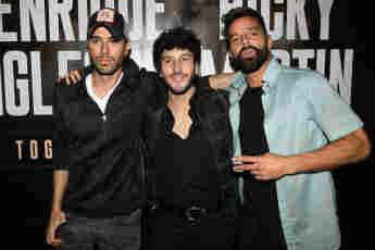 Enrique Iglesias, Sebastián Yatra y Ricky Martin