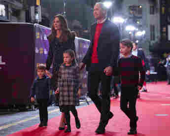 prince william duchess kate with her children