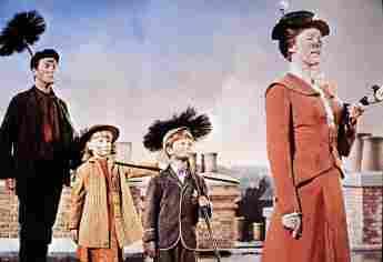 El elenco original de 'Mary Poppins'