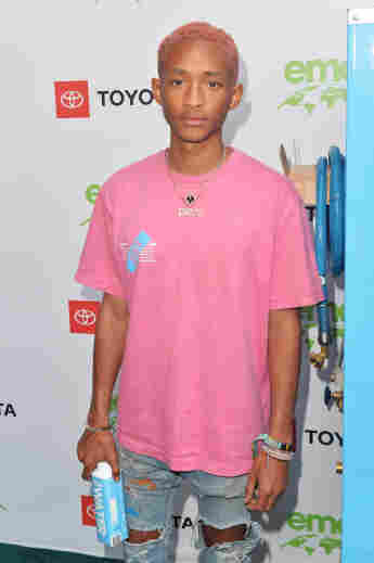 Jaden Smith on the red carpet