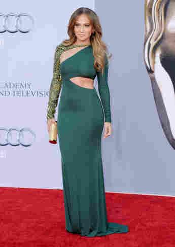 Jennifer Lopez at the 2011 BAFTAs