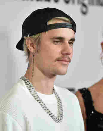 """Justin Bieber attends the premiere of """"Justin Bieber: Seasons"""" on January 27, 2020, in Los Angeles, California."""