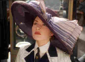 Kate Winslet in 'Titanic'.