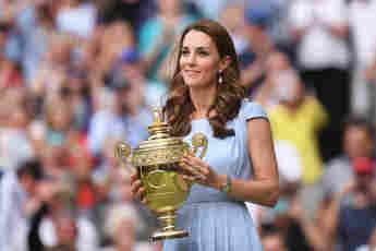 Duchess Catherine at the 2019 Wimbledon Championships