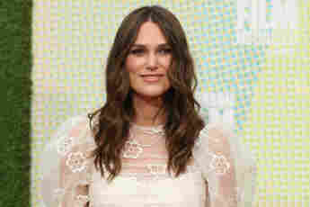 Keira Knightley steps out for her first red carpet event after quietly giving birth to her second child in October 2019