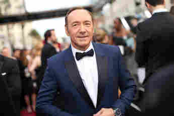 Kevin Spacey at the 86th Annual Academy Awards on March 2, 2014