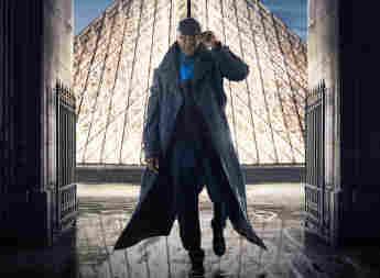 Omar Sy en una imagen promocional de la serie 'Lupin'