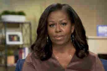 Michelle Obama Reacts To Harry And Meghan's Oprah Interview