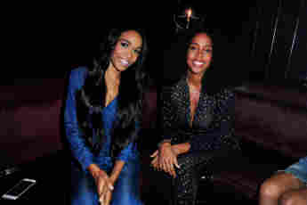 Michelle Williams and Kelly Rowland