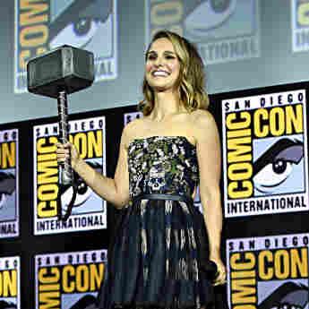 Natalie Portman at Comic-Con 2019
