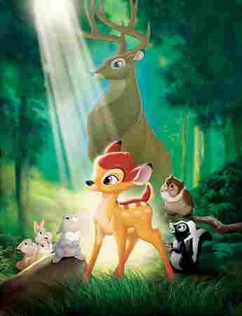 Póster de la película 'Bambi'